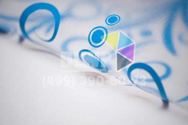 печать на прозрачной самоклеющейся пленке