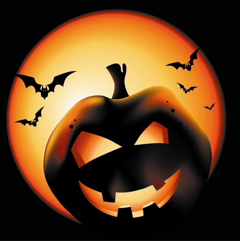оформление на хэллоуин (Halloween)