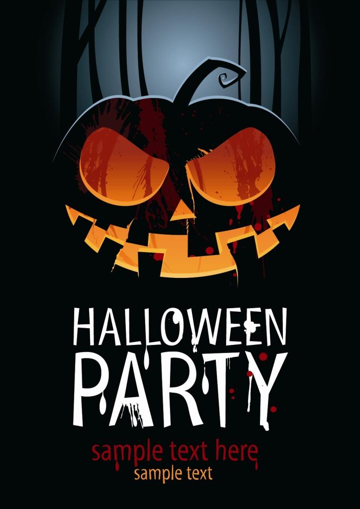 баннер на хэллоуин (Halloween)