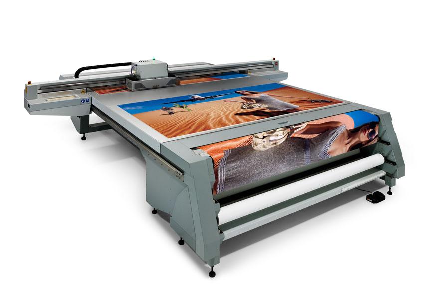 уф печать с использованием белил