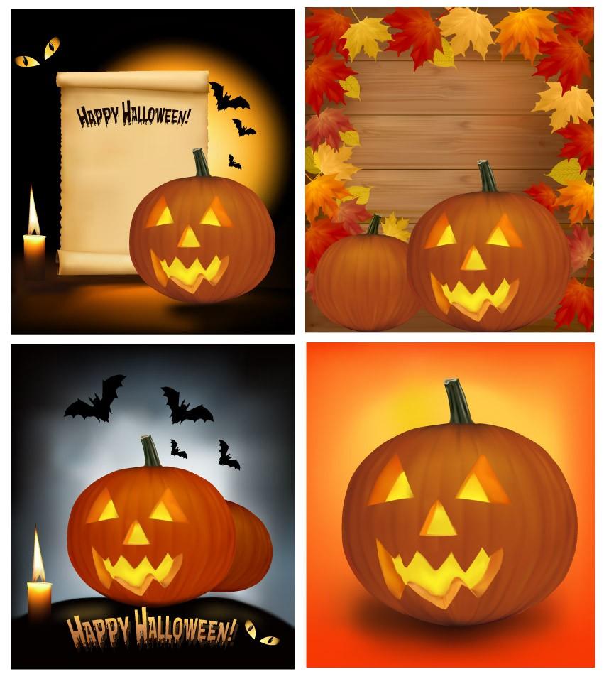 оформление баннерами на halloween