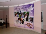Свадебный баннер на стену